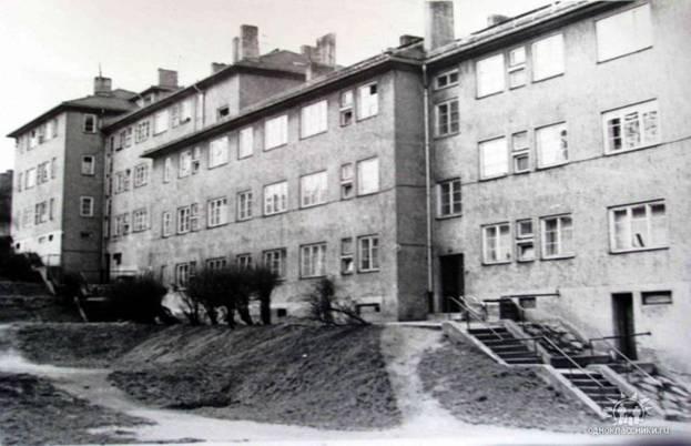 Гера. Гарнизон. Дом, в котором жили офицеры и их семьи.