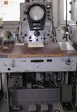 Рабочее место оператора Р-359 «Пеликан».